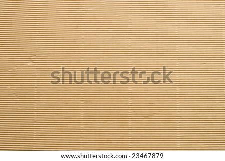 Textured biege cardboard background - stock photo