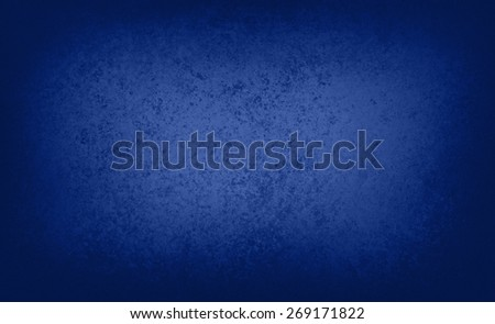textured blue background with black border - stock photo