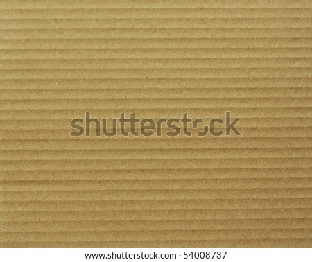 Textured cardboard - stock photo