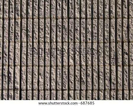 Textured cement wall - stock photo