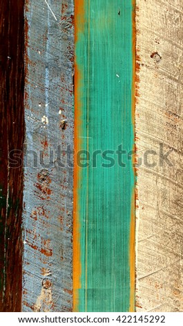 Textured Distressed Timber Background 1 - stock photo