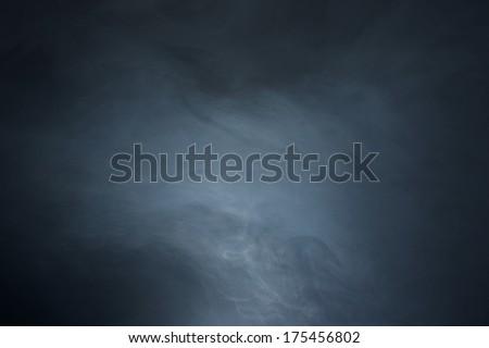 Textured Haze on Black Background - stock photo