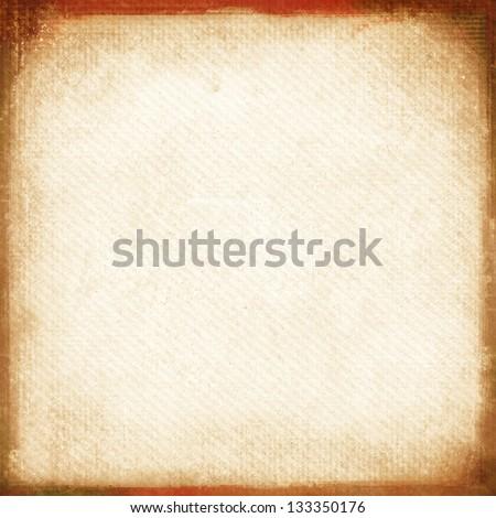 textured medium format filmstrip with grain textured and grunge border - stock photo