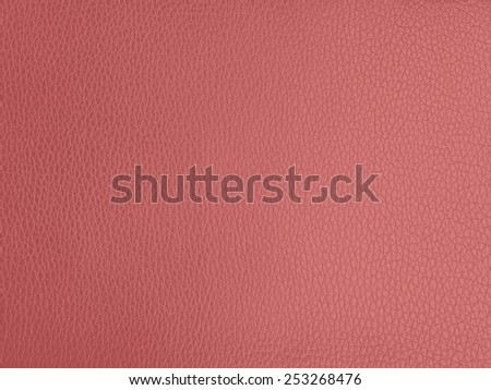 textured of pink leather background - stock photo