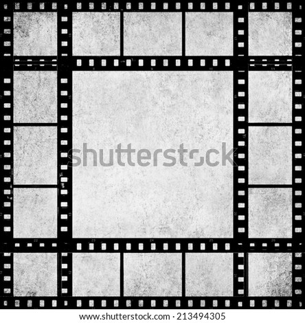Textured Old Paper Background Films Strip Stock Photo (Safe to Use ...