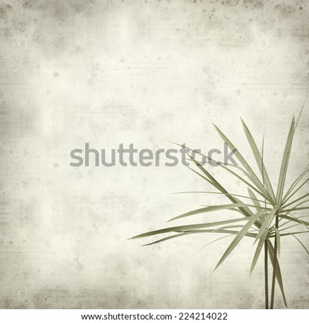 textured old paper background with papyrus - stock photo