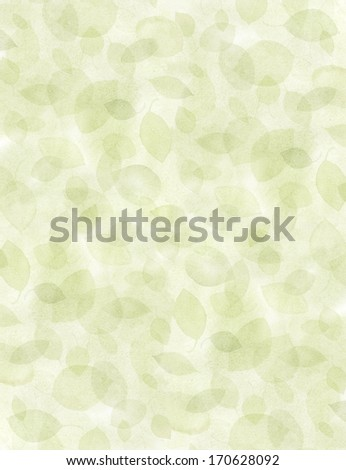 Textured organic leaf background with multiple layers of opacity. - stock photo