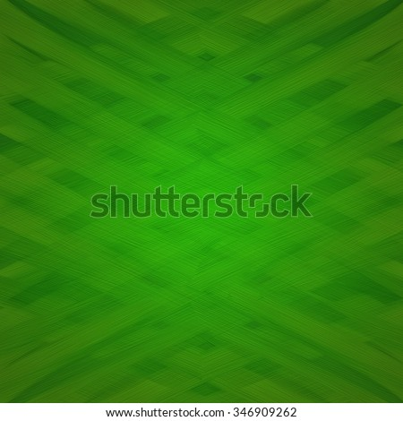 textured paint background, thick oil paint brush strokes design with criss crossing layers of paint texture in abstract pattern, cool graphic art background idea, green background - stock photo