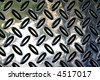 textured perforated metallic background - stock photo