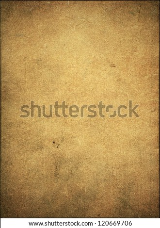 Textured stained rough grunge paper vintage background - stock photo