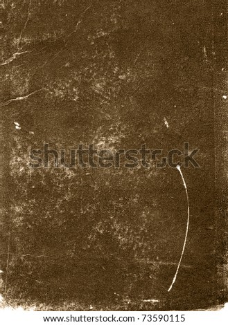 Textured stained rough vintage paper grunge background - stock photo