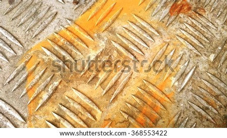 Textured stainless steal for background - stock photo