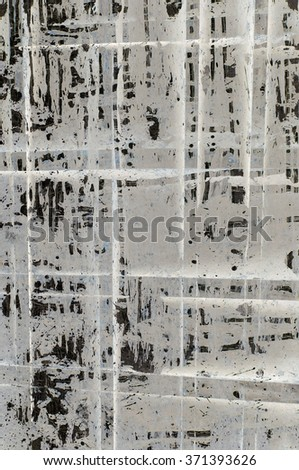 textured surface
