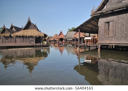 Thai ancient house
