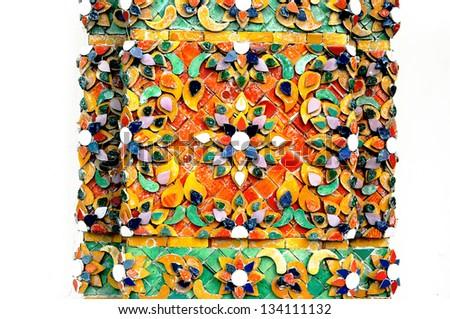 thai art pattern - stock photo
