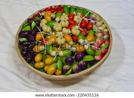 thai dessert - stock photo
