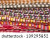 thai fabric - stock photo