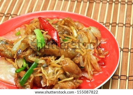 Thai food. - stock photo