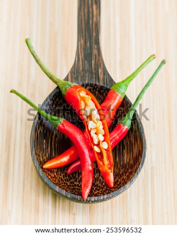 Thai food Cooking ingredients. - spice tast - stock photo