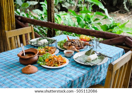 thai kunch set for two peoples