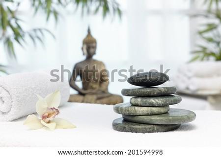 thai massage hot stones stock photo edit now 201594998