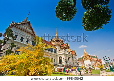 Thai Palace in bangkok thailand