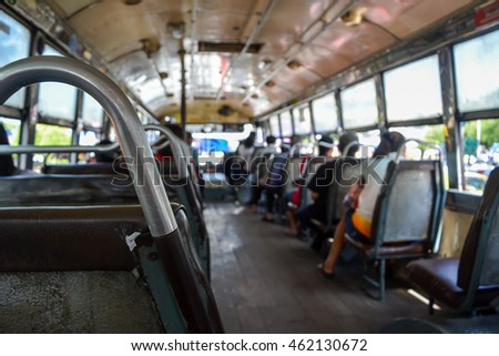 Thai Public Bus Transportation