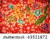 thai silk flower - stock photo
