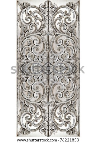 Thai silver pattern texture Crafts world. Thai Lanna style. Delicate style is timeless and powerful. - stock photo