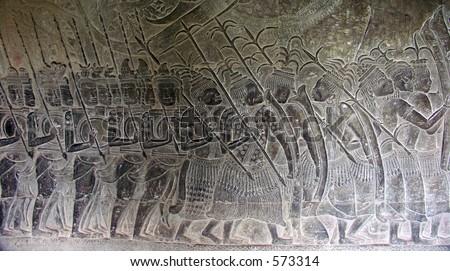 Khmer Empire Religion March Against Khmer Empire