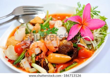 thai spices - stock photo