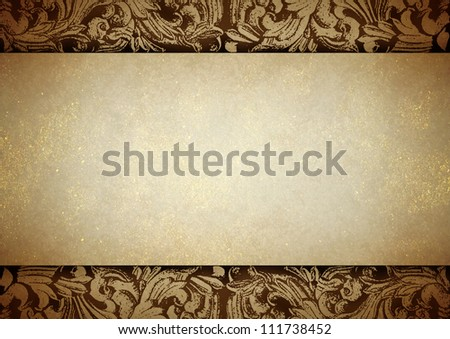 Thai Tradition Art Paper Gold Dust Stock Illustration 111738452 ...