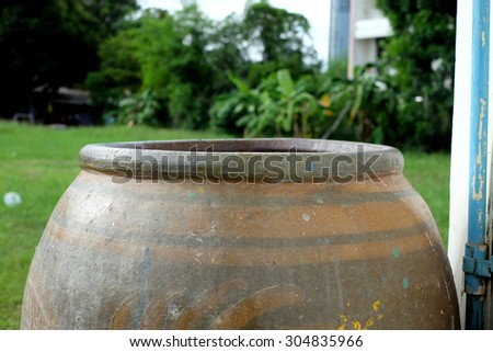 thai water jar