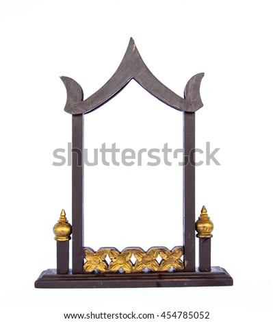 Thai Wood Frame  Thai Style Frame