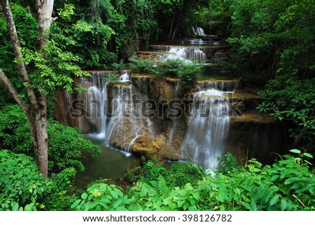 Thailand famous Waterfall