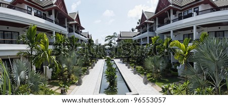 Thailand, Koh Samui (Samui Island), Thai resorts on the beach