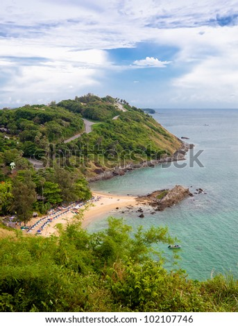 Thailand landscape. Phuket view point.