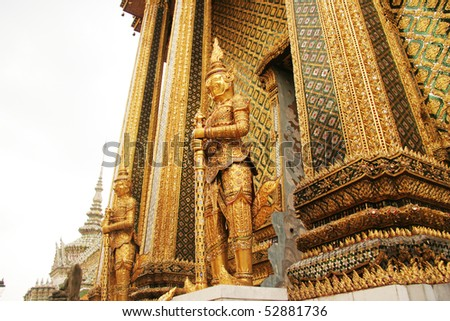 thailand palace guards