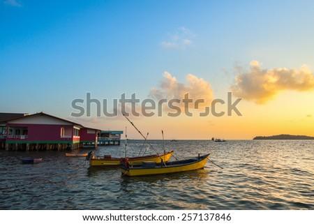 Thailand sea - stock photo