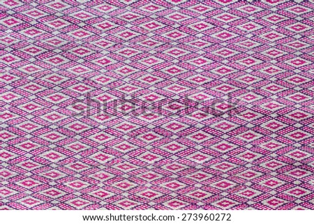 Thailand silk colorful background