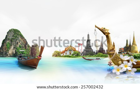 Thailand travel - stock photo
