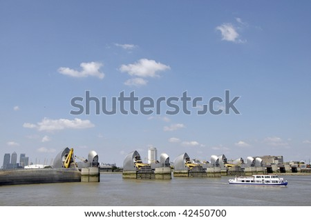 Thames Barrier at Charlton