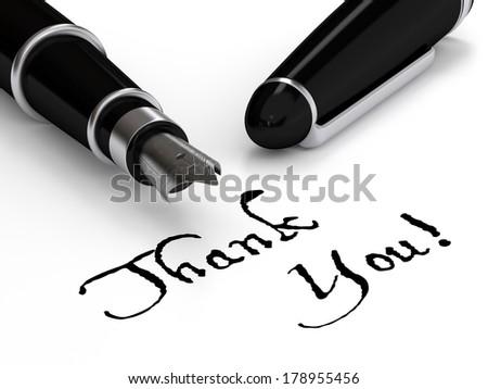 Thank you! - stock photo