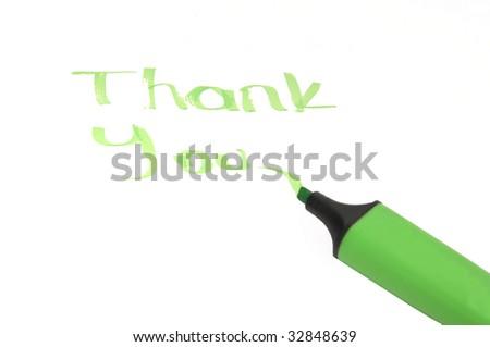 Thank You - stock photo