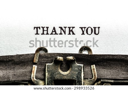 Thank, you, card. - stock photo