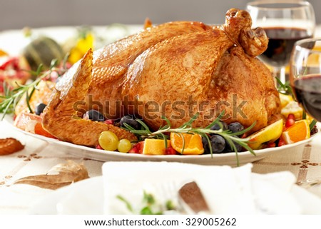 Thanksgiving Dinner - stock photo
