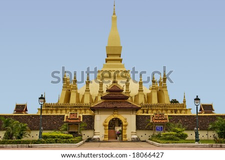 That Luang, temple in Laos