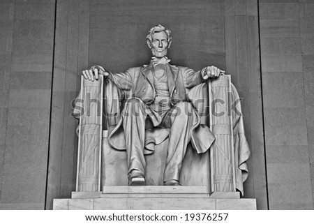 The Abraham Lincoln Memorial - stock photo