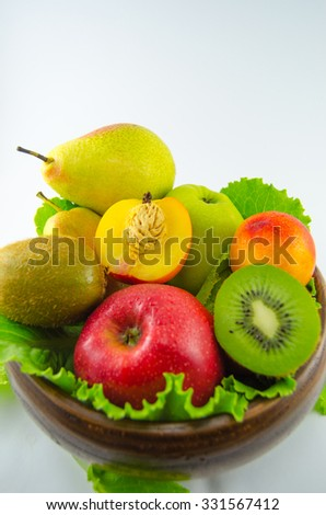 The abundance of fruit