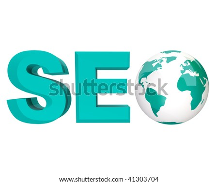 The acronym SEO, standing for Search Engine Optimization - stock photo